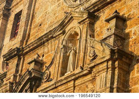 San Pedro Claver Church at Cartagena de Indias