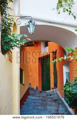 Positano, Mediterranean Village On Amalfi Coast, Italy