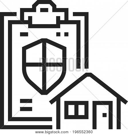 House Protection Icon