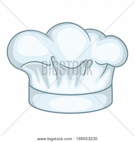 Cook hat icon. Cartoon illustration of cook hat vector icon for web design