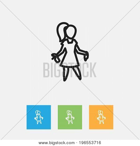 Vector Illustration Of Cleanup Symbol On Chores Outline