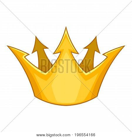 Prince crown icon. Cartoon illustration of prince crown vector icon for web design