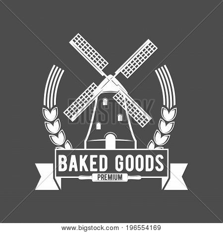 bakery badges and logo icons modern style vector collection.
