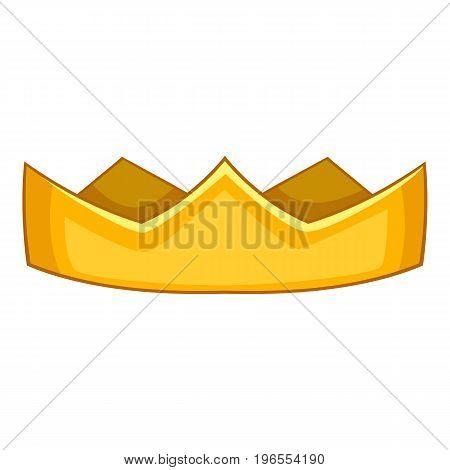 Baron crown icon. Cartoon illustration of baron crown vector icon for web design