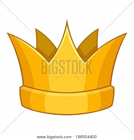 Baronet crown icon. Cartoon illustration of baronet crown vector icon for web design