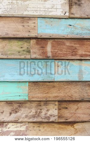 Old color wooden texture background vintage style