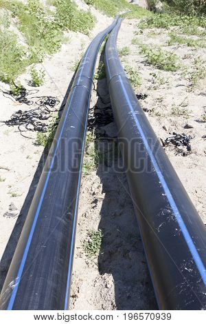 Large Polyethylene Pipes For Water Supply