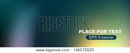 Abstract blurred vector background. Nature backdrop for design. EPS 8