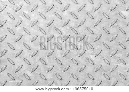 Metal plaque abstract texture. Iron colorless plate.