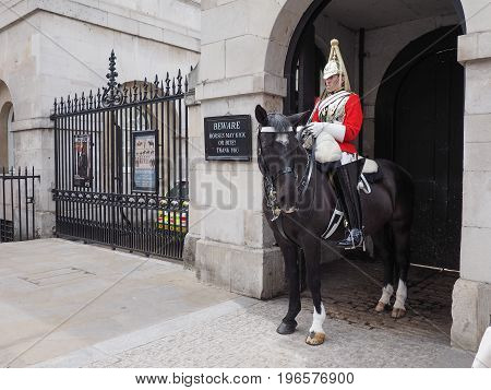 Horse Guards Parade In London