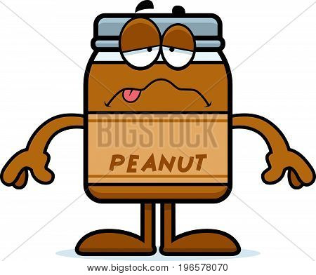 Sick Cartoon Peanut Butter