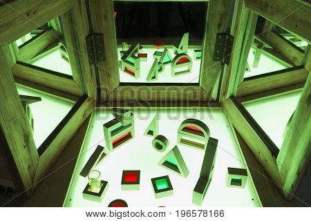 Light Table In A Living And Active Education Space