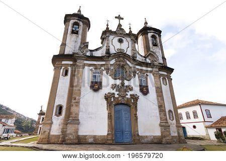 Church of Our Lady of Carmo in Ouro Preto, Minas Gerais, Brazil