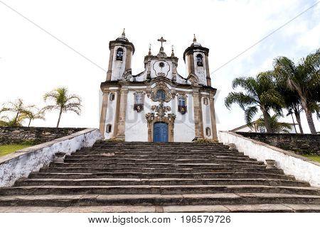 Church of Our Lady of Carmo in Ouro Preto Minas Gerais Brazil
