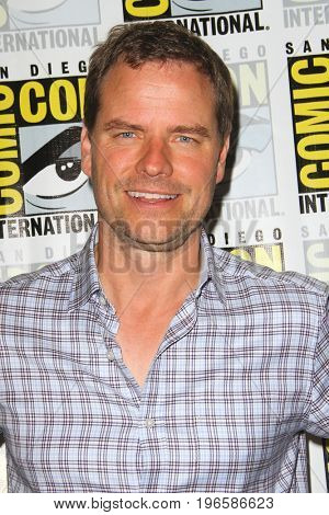 SAN DIEGO - July 20:  Anthony Lemke at the Comic-Con Day One at the Comic-Con International on July 20, 2017 in San Diego, CA