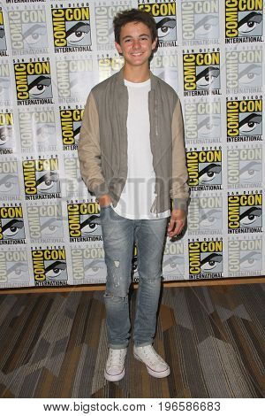 SAN DIEGO - July 20:  Max Charles at the Comic-Con Day One at the Comic-Con International on July 20, 2017 in San Diego, CA