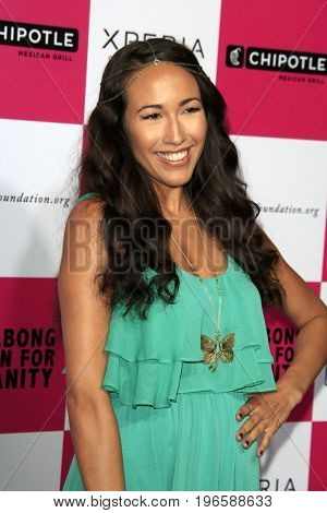 LOS ANGELES - JUL 25:  Marisa Quinn at the Billabong's 6th Annual Design For Humanity Event at the Paramount Studios on July 25, 2012 in Los Angeles, CA