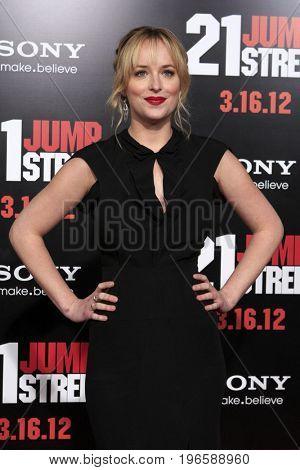 LOS ANGELES - APR 13:  Dakota Johnson at the