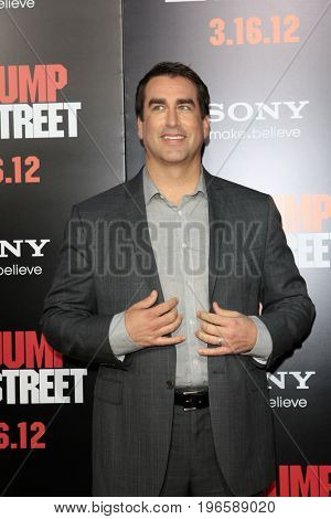 LOS ANGELES - APR 13:  Rob Riggle at the