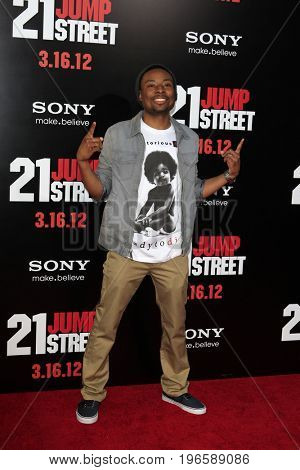 LOS ANGELES - APR 13:  Justin Hires at the