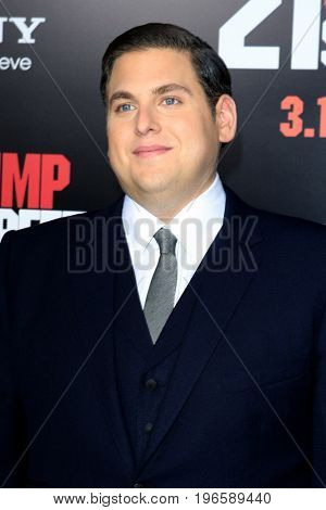 LOS ANGELES - APR 13:  Jonah Hill at the