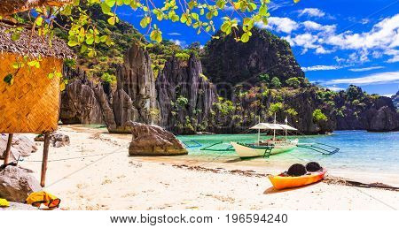 Island hopping - incredible El Nido, wild beauty of Philippines