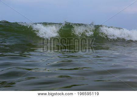 Ocean Wave Blue Water Ocean Wave Blue Swells Crashing Curling