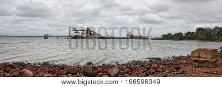 Weipa is the largest town on the Gulf of Carpentaria coast of the Cape York Peninsula in Queensland