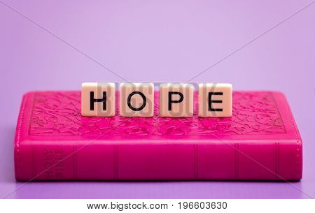 Hope Spelled Out In Tiles