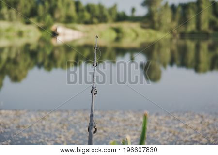 Fishing. Rod Tip. To Fish A Rod. Spinning.