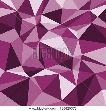 Pink polygon abstract triangle background, stock vector