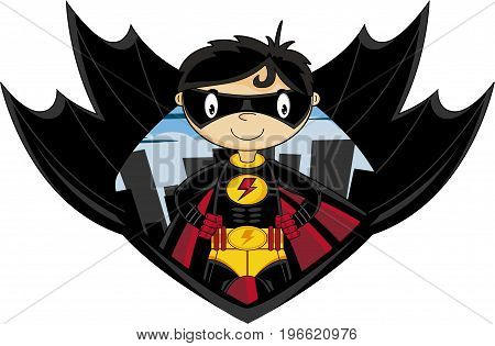 Lightning Bolt Superhero