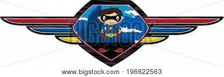 Cute Superhero Shield
