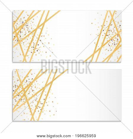 gold streamer sparkles background golden ribbon sparkling glitter christmas holidays background happy