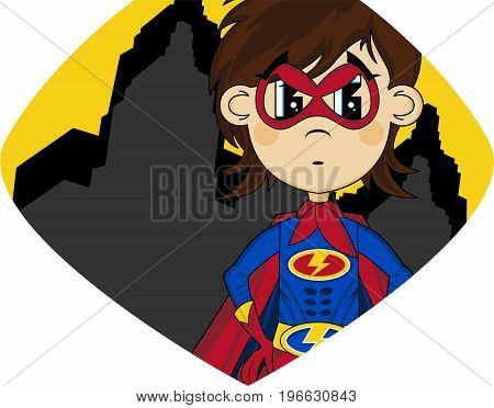 Cartoon Superhero 19