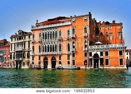 Italy. Venice. Grand and small canals and architecture
