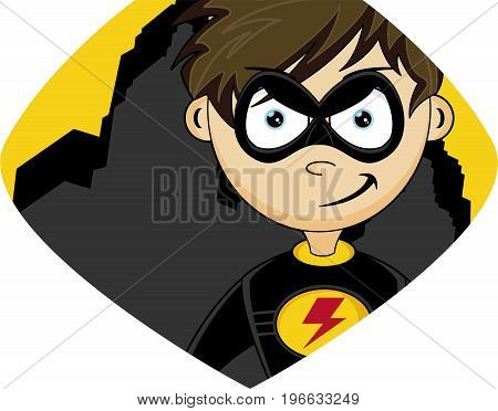 Cartoon Superhero 11