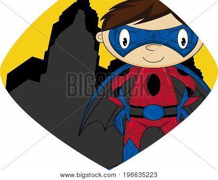 Cartoon Superhero 3