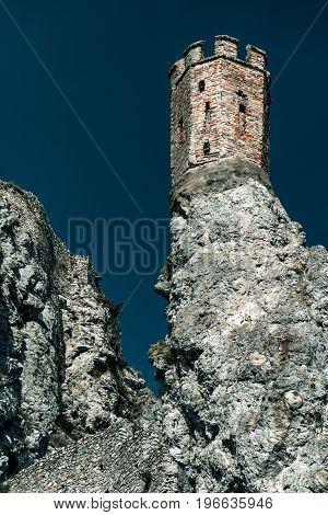 Turret At Devin Castle, Slovakia