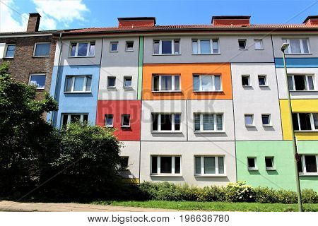 An image of a apartment building - Bielefeld/Germany - 07/23/2017