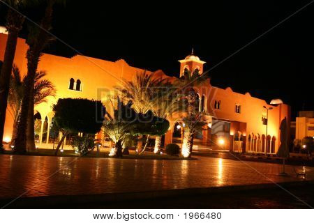 Villa Resort in Egypt. Fantastic resort city - Hurghada. poster