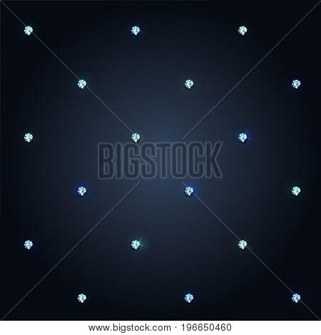 Diamonds background  - raster version