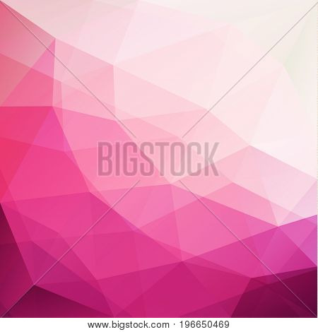 Abstract colorful triangles pattern geometric background  - raster version