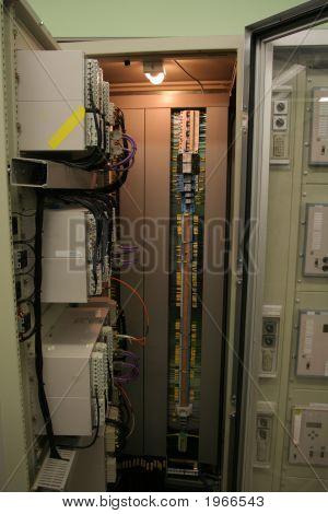 High Voltage Conrol Panel