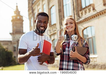 Different but the same. Creative clever motivated students going to the same college and attending classes while making new friends and learning important things