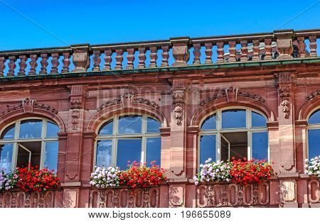 Medieval (1900 - 1908) Neo-Baroque Old Town Hall in Frankfurt am Main, Germany