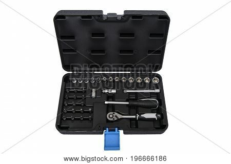 Tools for repair on a white background
