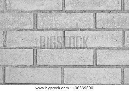 Brick Wall Background. Texture Of A Brick Wall Close-up.