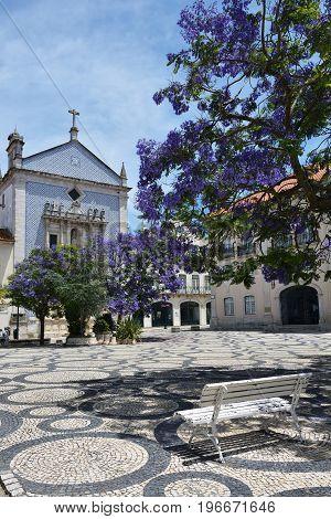 Praca Da Republica Square In Aveiro Portugal.