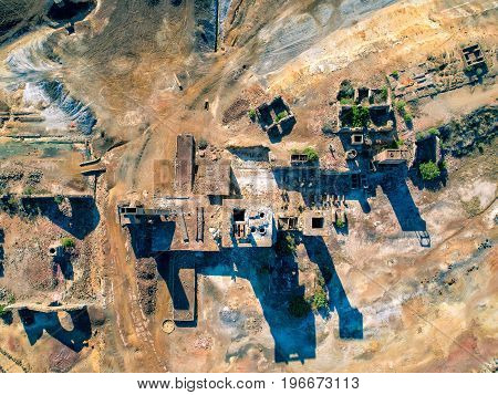 Abandoned Old Copper Extraction